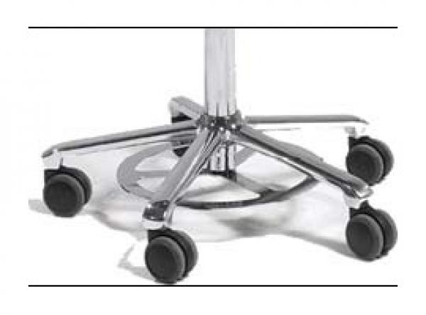 Sitzhöhenverstellung per Hand und Fuß (T&B) für Salli Stühle